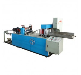 Full-Automatic 1/4 Folding Colored Napkin Paper Machine